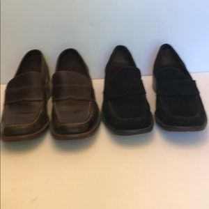 Two pairs of Cole Haan Narrow Loafers